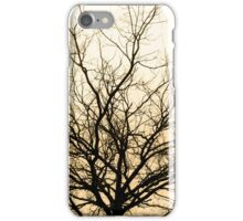 red tree iPhone Case/Skin