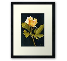 Singular Beauty Framed Print