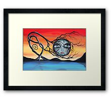 Tangled in the Dream - Art by Angieclementine Framed Print