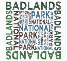 Badlands National Park Baby Tee
