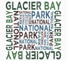 Glacier Bay National Park Kids Tee