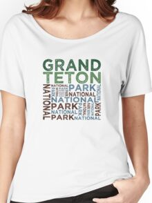 Grand Teton National Park Women's Relaxed Fit T-Shirt