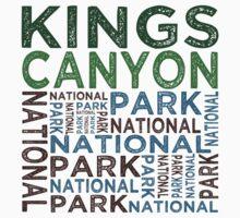 Kings Canyon National Park Kids Tee