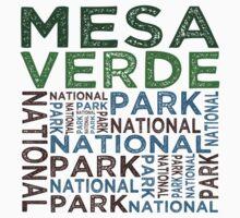 Mesa Verde National Park Kids Tee