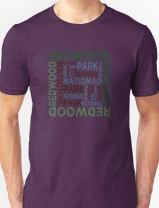 Redwood National Park Unisex T-Shirt