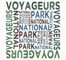 Voyageurs National Park One Piece - Short Sleeve