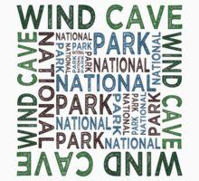Wind Cave National Park Kids Tee