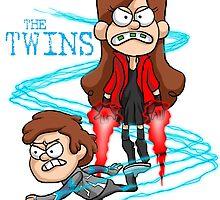 Wonder Twins Avengers by EJTees