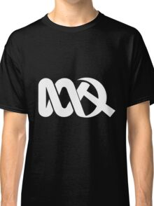 Red ABC in Reverse Classic T-Shirt