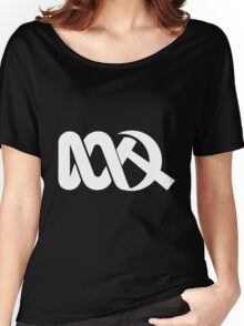 Red ABC in Reverse Women's Relaxed Fit T-Shirt