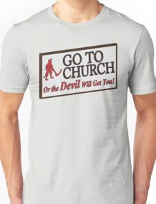 Go to Church Sign in Alabama T-Shirt