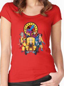 eXpress Men Women's Fitted Scoop T-Shirt