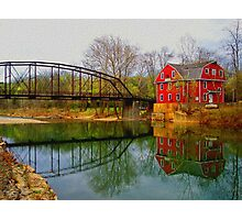 Down By The Old Mill Stream Photographic Print