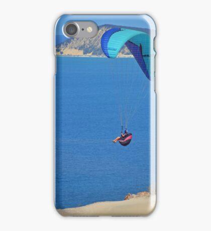 Rainbow Beach Paragliding iPhone Case/Skin