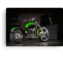 Bub's Customs Harley Davidson Canvas Print
