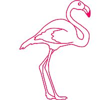 Flamingo Bird Design by Style-O-Mat