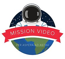 NASA Mission Video Space Camp Design by krishawkins
