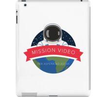 NASA Mission Video Space Camp Design iPad Case/Skin