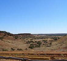 Across the Desert! Central Queensland near Boulia. Aust. by Rita Blom
