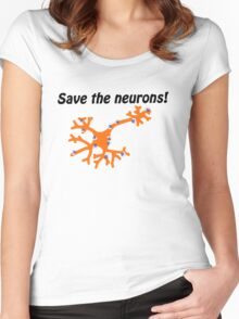 Fight for MS Sufferers - We're no where near a cure, we don't even know why we have it! Women's Fitted Scoop T-Shirt