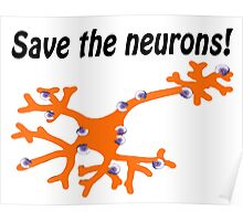 Fight for MS Sufferers - We're no where near a cure, we don't even know why we have it! Poster