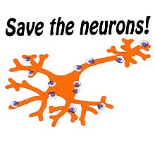 Fight for MS Sufferers - We're no where near a cure, we don't even know why we have it! Photographic Print
