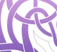 Celtic Horse_Pink & Purple Blend Sticker