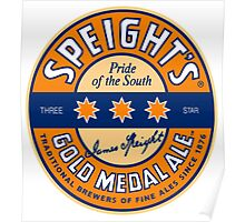 SPEIGHT'S GOLD MEDAL ALE Poster