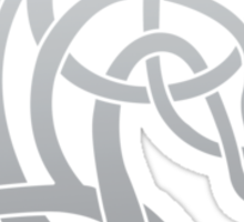 Celtic Horse_Silver Grey Blend Sticker