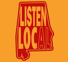listen local red Unisex T-Shirt