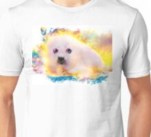 curious seal Unisex T-Shirt