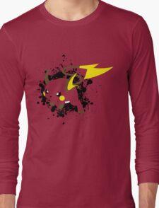 Raichu Splatter Long Sleeve T-Shirt