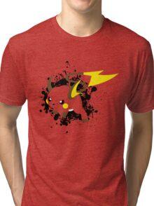 Raichu Splatter Tri-blend T-Shirt