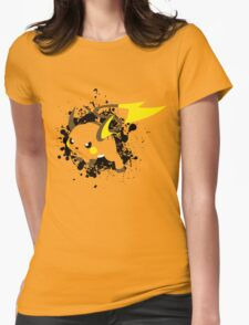 Raichu Splatter Womens Fitted T-Shirt