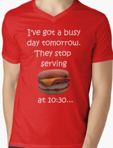 Busy Day Tomorrow Mens V-Neck T-Shirt