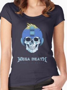 Mega Death Women's Fitted Scoop T-Shirt