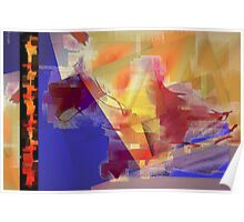 Abstract symbolism one Poster