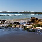 Beach, Surf, Rocks 1 by diggle