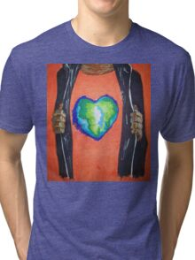 Heart for the world Tri-blend T-Shirt