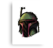 Boba Fett in Line Canvas Print