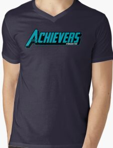 Over Achievers Mens V-Neck T-Shirt