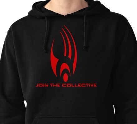 Star Trek - The Borg Collective Pullover Hoodie