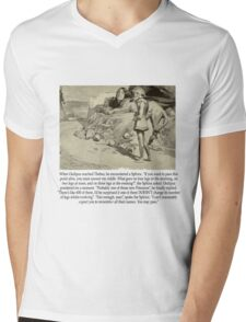 Oedipus Mens V-Neck T-Shirt