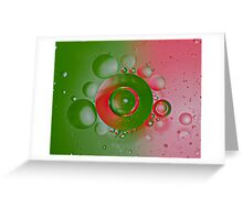 Double Bubble  Greeting Card