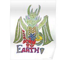 """Earth Dragon"" Poster"