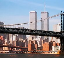 TWIN TOWERS and BRIDGES of NEW YORK by Daniel-Hagerman