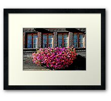 How the Swiss decorate their homes Framed Print