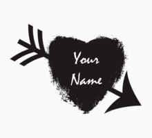 Your Name Arrow Heart Tattoo (5SOS) by aasshhlliinn