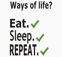 Ways of life. by boleeez