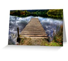 Grasmere Jetty Greeting Card